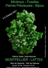 24ª feira internacional de joias de minerais fósseis