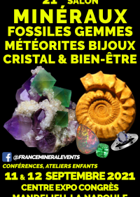 21ª Feira de Gemas de Minerais Fósseis