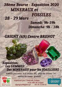 38ª exposição de minerais e fósseis