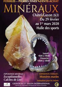 57 Géologic feira de minerais, fósseis e pedras preciosas