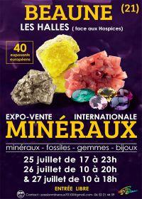 Feira de minerais e fósseis