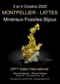 Troca Internacional Minerais Fósseis pedras cortadas Lattes Montpellier