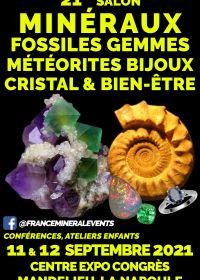 21º Evento da Feira Mineral Mandelieu