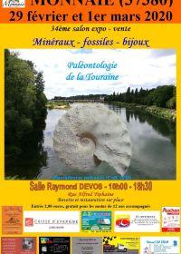 34 feira de minerais e fósseis