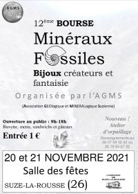 12ª Troca de Minerais, Fósseis e Joias