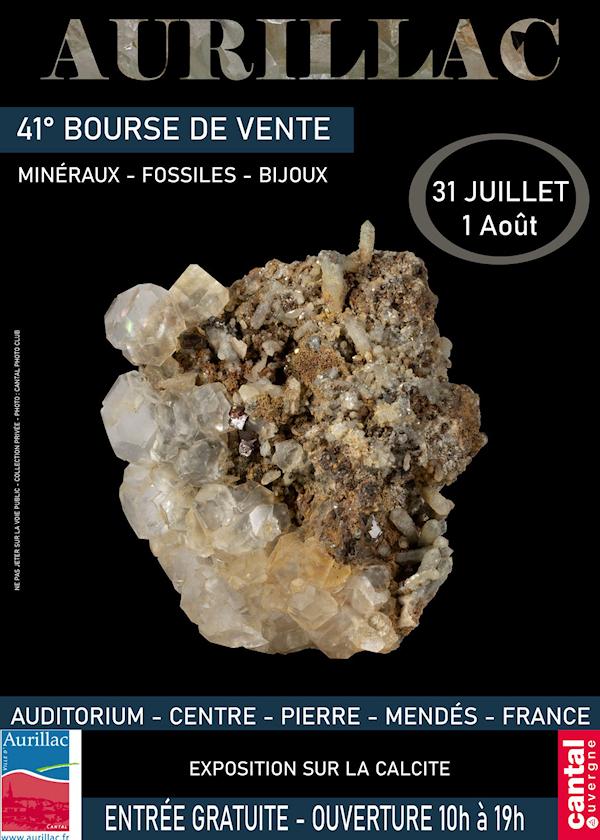 41ª Troca de Minerais, Fósseis e Joias em Aurillac
