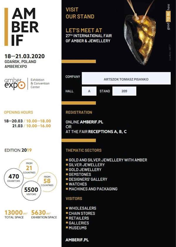 Exposição Internacional de Âmbar, Jóias e Gemas