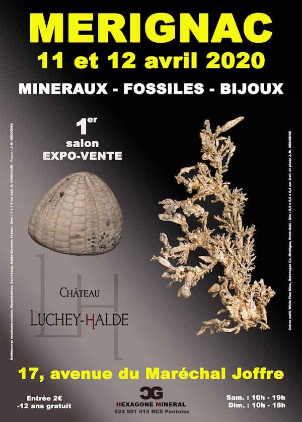 1ª edição da feira de minerais, fósseis e joias