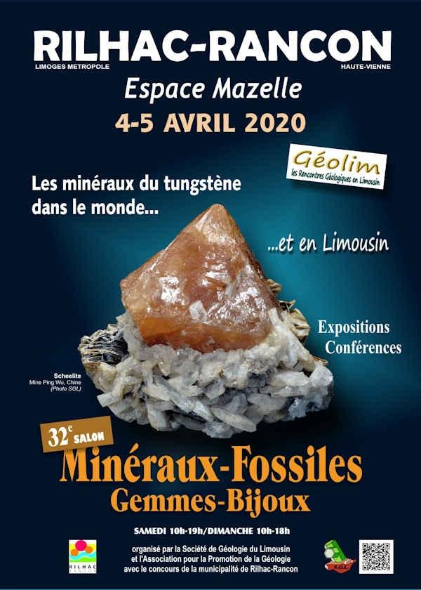 32ª exposição de gemas e jóias de minerais fósseis