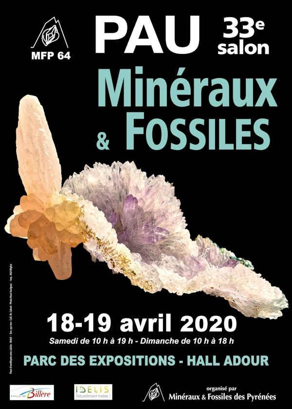 33ª Mostra de Minerais e Fósseis