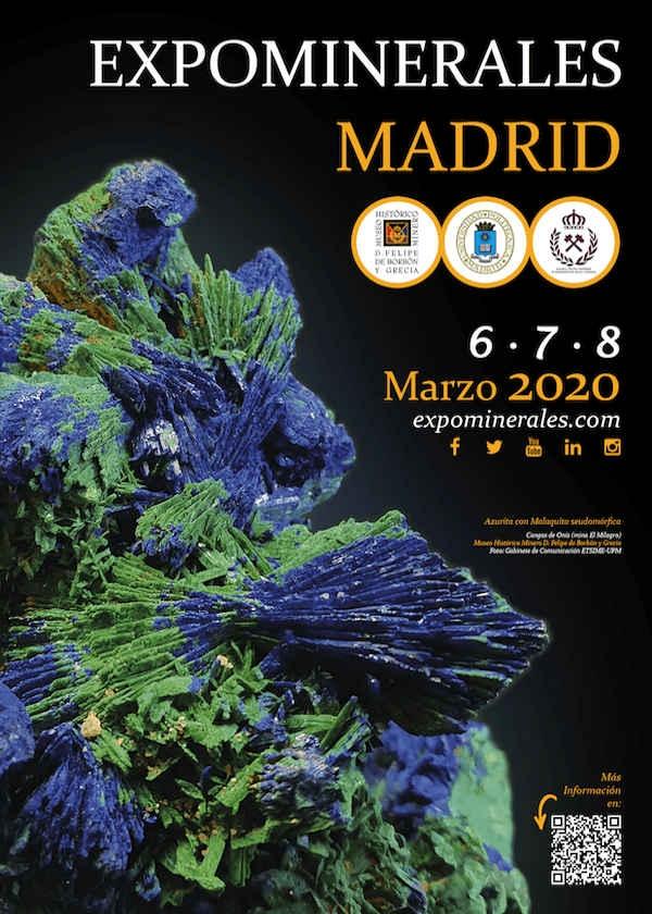 Exposição mineral Madrid 2020