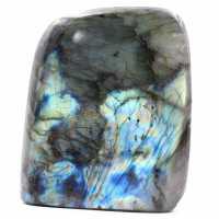 Pedra de labradorita azul polida