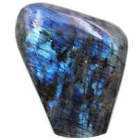 Ornamental freeform em labradorite azul