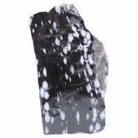 Grande Bloco de Obsidiana Nevado