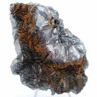 Cristalização de hematita em gange de hematita