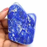 Gepolijste lapis lazuli steen