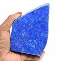 Pedra natural lapis lazuli polida