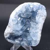 Bloco de cristais naturais de celestita
