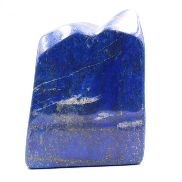 Lapis Lazuli bloco de pedra ornamental forma abstrata