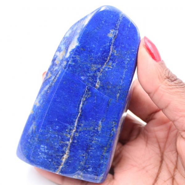 Bloco de forma livre de pedra Lapis Lazuli
