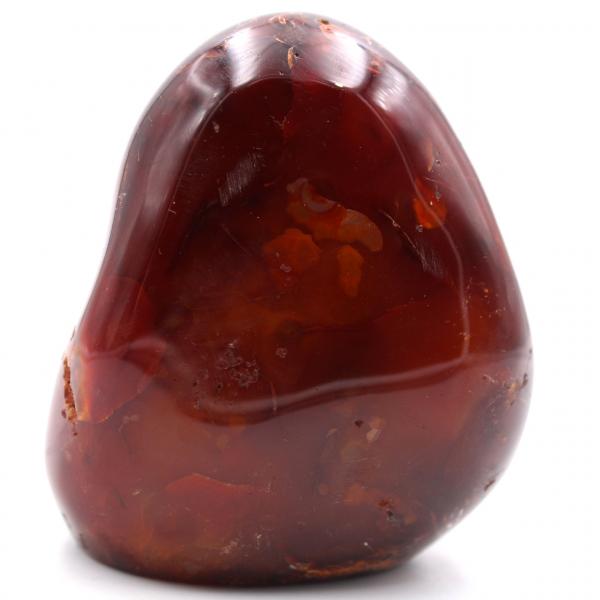 Pedra de cornalina totalmente polida