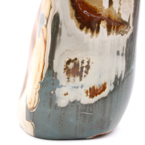 2,5 quilos impresso em jaspe, pedra decorativa