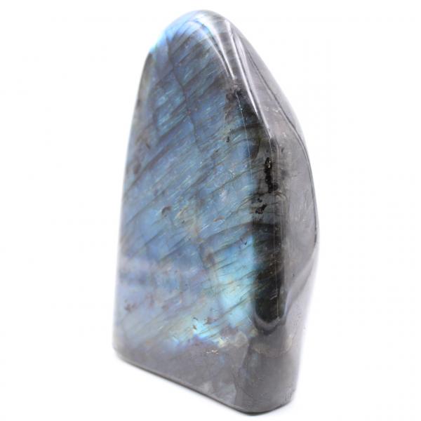 Bloco de labradorita azul, pedra ornamental