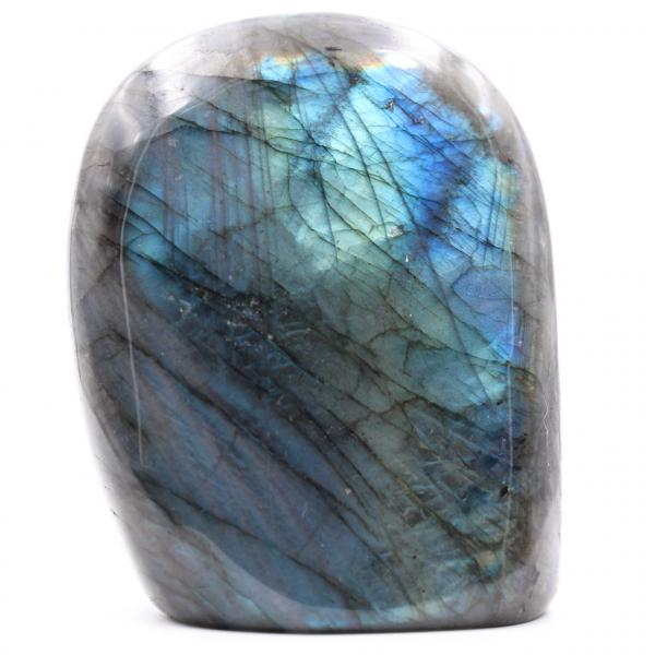 Bloco de pedra de labradorita azul