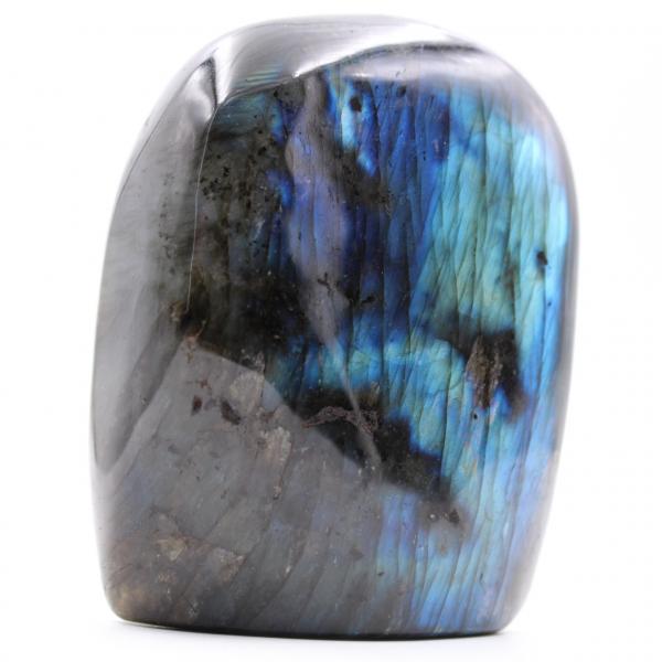 Pedra de labradorita de forma livre azulada