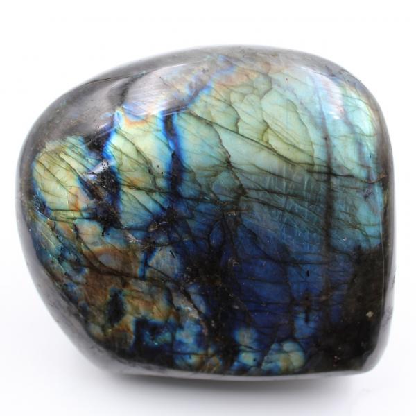 Pedra decorativa, labradorita polida