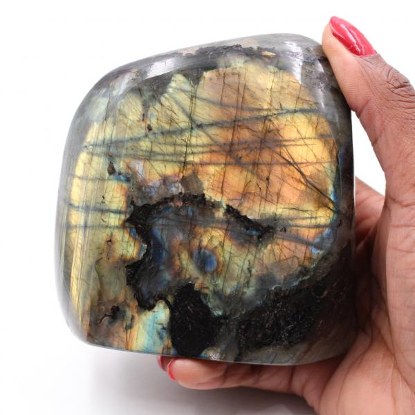 Pedra polida de labradorita