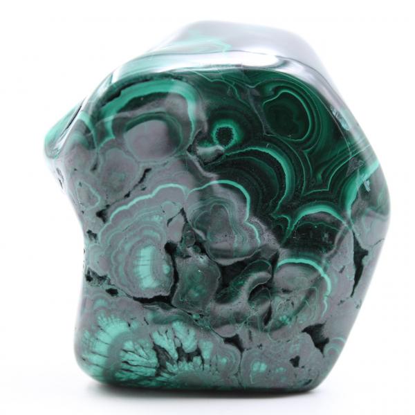 Pedra polida malaquita