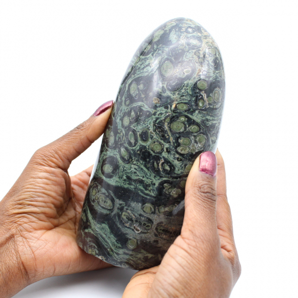 Pedra de jaspe kambaba