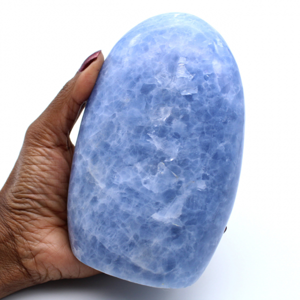 Forma livre de calcita azul