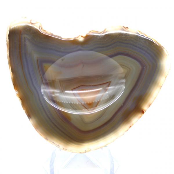 Cinzeiro de ágata