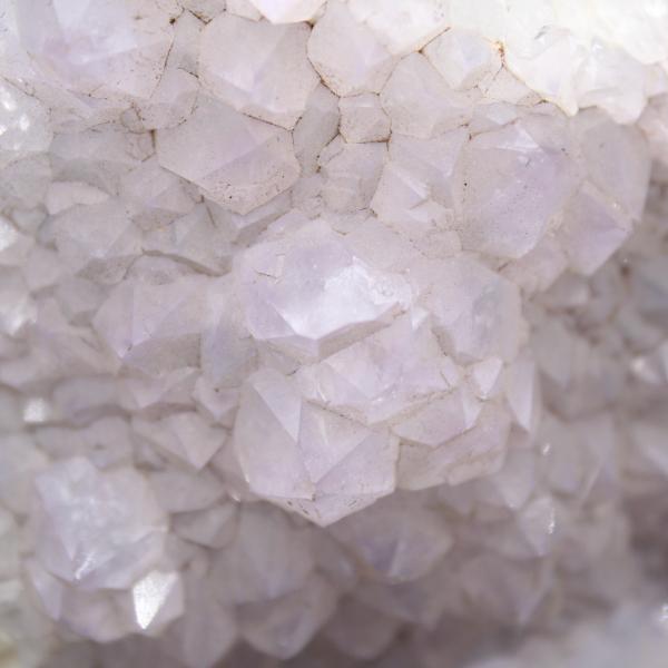 Ágata de quartzo cristalizada